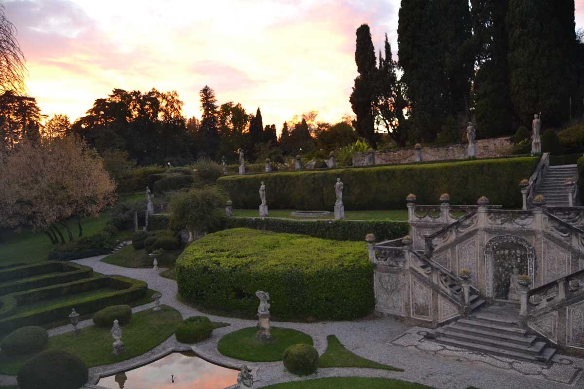 Il giardino all italiana villa sommi picenardi - Giardino all italiana ...